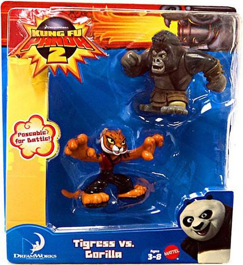 Kung Fu Panda 2 Tigress vs. Gorilla Mini Figure 2-Pack