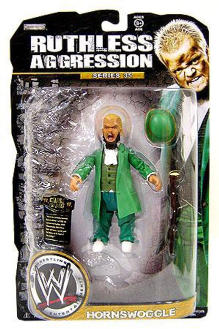 WWE Wrestling Ruthless Aggression Series 35 Hornswoggle Action Figure