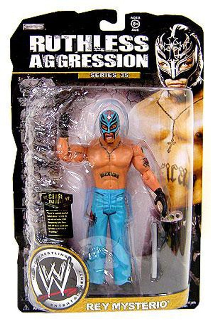 WWE Wrestling Ruthless Aggression Series 35 Rey Mysterio Action Figure