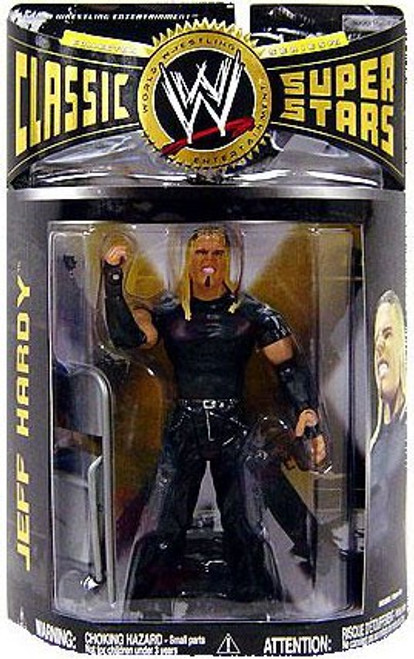 WWE Wrestling Classic Superstars Series 21 Jeff Hardy Action Figure