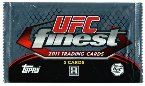 UFC Ultimate Fighting Championship 2011 Finest Trading Card Pack