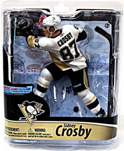 McFarlane Toys NHL Pittsburgh Penguins Sports Picks Series 28 Sidney Crosby Action Figure [White Jersey]