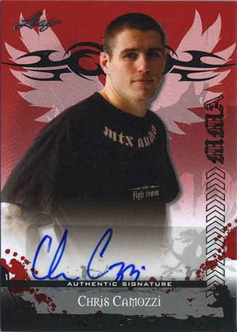 MMA Series 2010 Chris Camozzi Autograph Card AV-CC1
