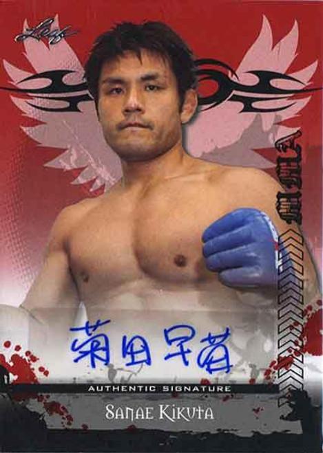MMA Series 2010 Sanae Kikuta Autograph Card AV-SK1