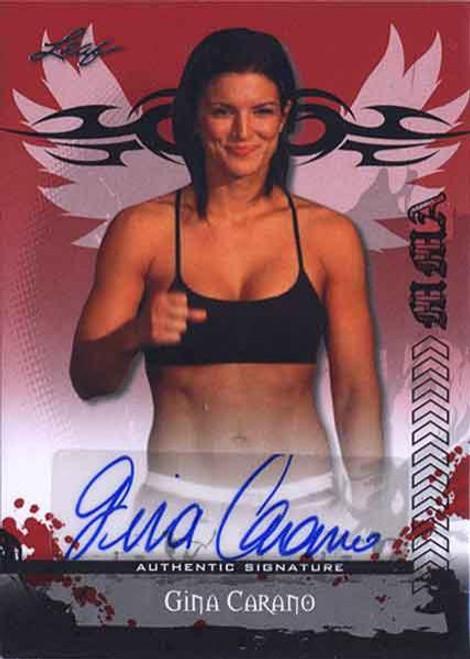 MMA Series 2010 Gina Carano Autograph Card AV-GC1