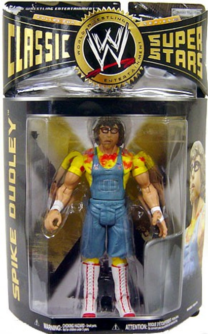 WWE Wrestling Classic Superstars Series 23 Spike Dudley Action Figure