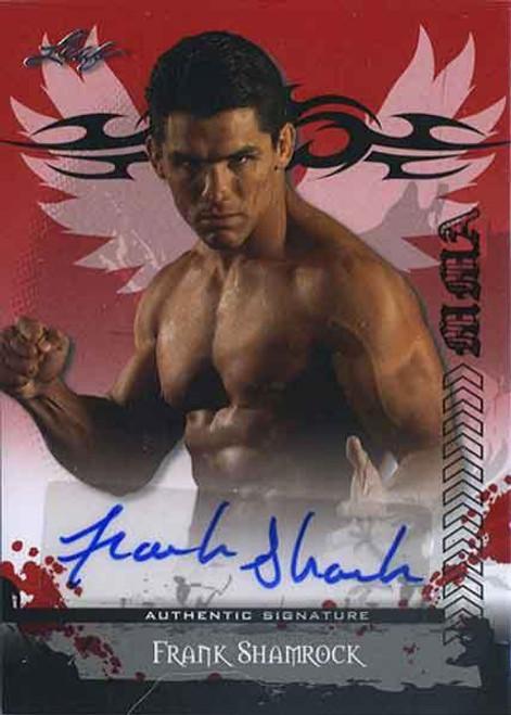MMA Series 2010 Frank Shamrock Autograph Card AV-FS2