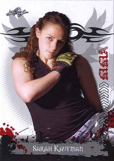 MMA Series 2010 Sarah Kaufman #72