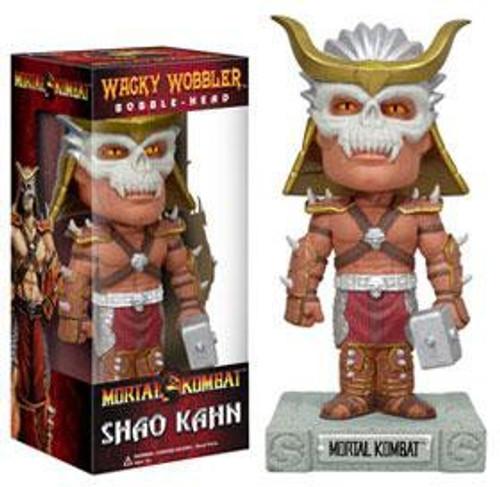 Funko Mortal Kombat Wacky Wobbler Shao Kahn Bobble Head