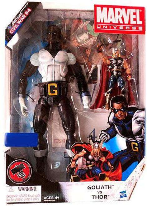 Marvel Universe Goliath vs. Thor Exclusive Action Figure Set #4]
