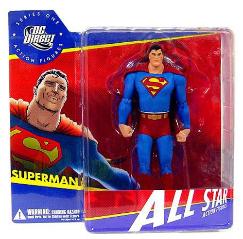 DC All Star Series 1 Superman Action Figure