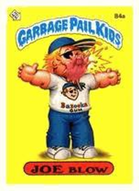 Garbage Pail Kids Topps Original 1980's Series 3 Trading Card Complete Set