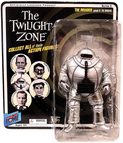 The Twilight Zone Series 5 The Invader Action Figure