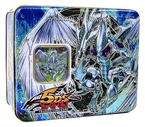 YuGiOh YuGiOh 5D's 2008 Series 1 Stardust Dragon Tin Set