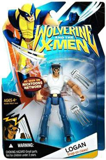 Wolverine and the X-Men Logan Action Figure [White Shirt & Jeans]