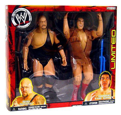 WWE Wrestling Exclusives Andre the Giant & Big Show Exclusive Action Figure 2-Pack