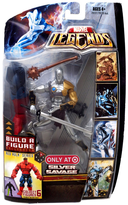 Marvel Legends Red Hulk Series Silver Savage Exclusive Action Figure