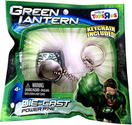 Green Lantern Movie Battle Shifters Die-Cast Power Ring Exclusive Keychain