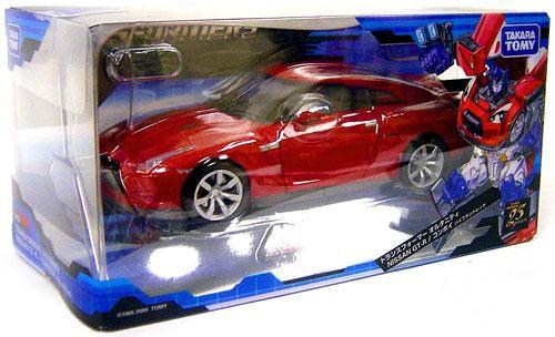 Transformers Japanese Alternity Nissan GT-R Baburian Optimus Prime Action Figure A-01