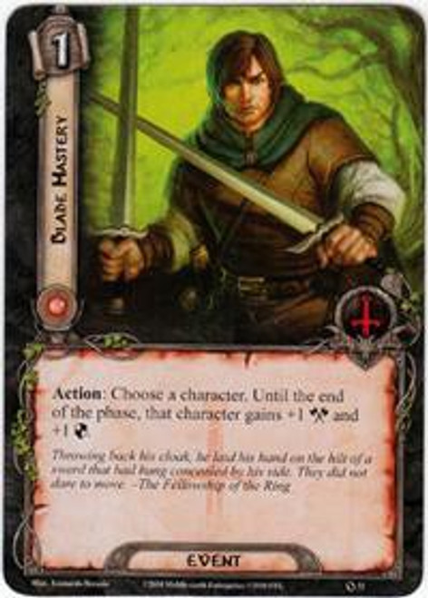 The Lord of the Rings The Card Game Core Set Common Blade Mastery #32