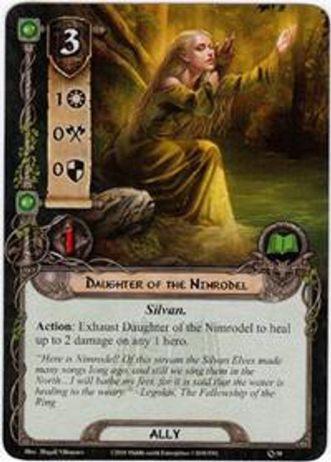 The Lord of the Rings The Card Game Core Set Common Daughter of the Nimrodel #58