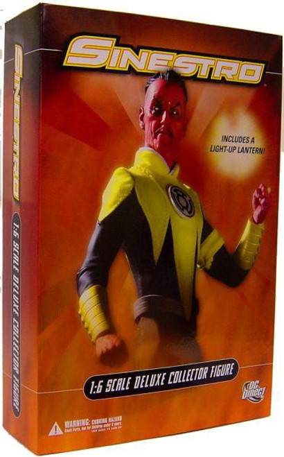 DC Green Lantern 1:6 Scale Deluxe Sinestro Collectible Figure