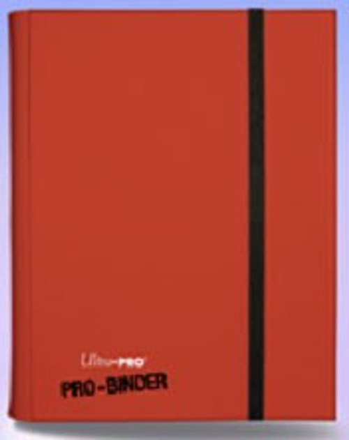 Ultra Pro Card Supplies Pro-Binder Red 9-Pocket Binder