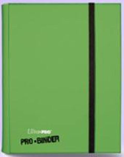 Ultra Pro Card Supplies Pro-Binder Light Green 9-Pocket Binder