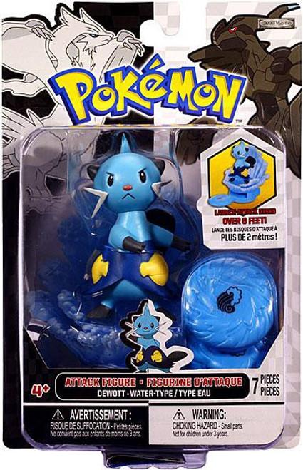 Pokemon Black & White Series 3 Attack Dewott Figure