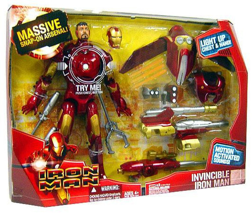 Invincible Iron Man Deluxe Action Figure