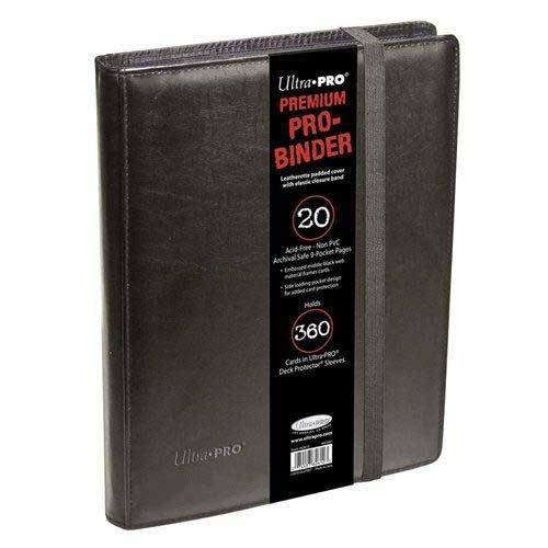 Ultra Pro Card Supplies Pro-Binder Black Premium 9-Pocket Binder