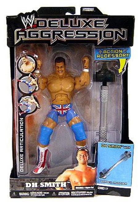 WWE Wrestling Deluxe Aggression Series 17 DH Smith Action Figure