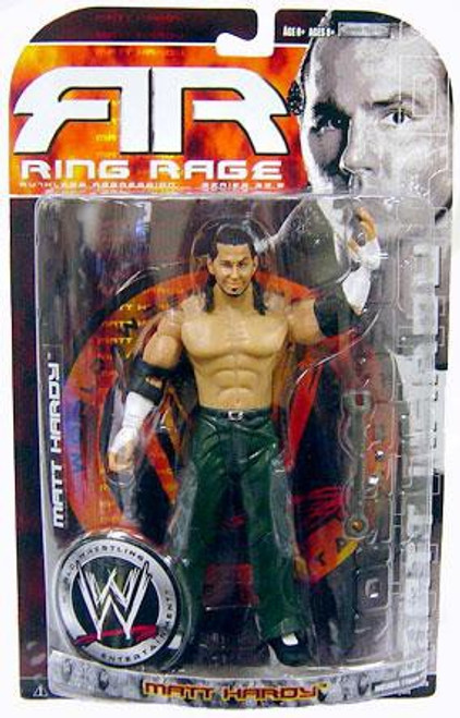 WWE Wrestling Ruthless Aggression Series 35.5 Ring Rage Matt Hardy Action Figure