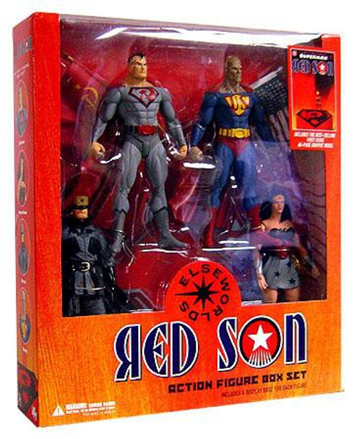 DC Superman Elseworlds Red Son Action Figure Set