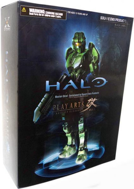 Halo Combat Evolved Play Arts Kai Master Chief Action Figure