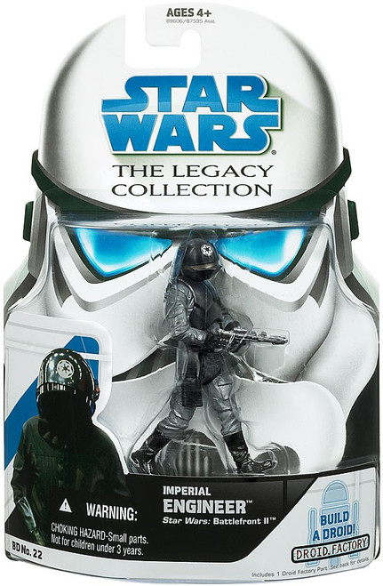 Star Wars A New Hope 2008 Legacy Collection Droid Factory Imperial Engineer Action Figure BD22