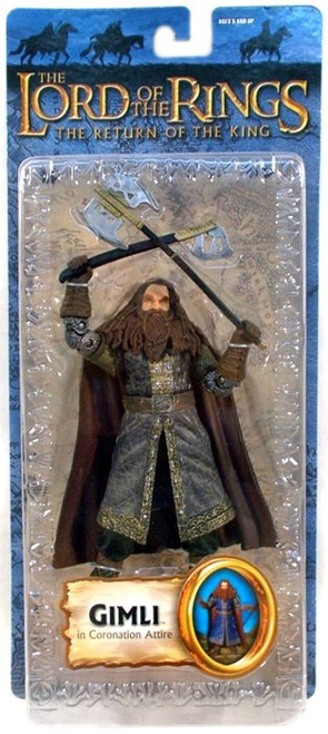 The Lord of the Rings The Return of the King Series 3 Gimli Action Figure [Coronation Attire]