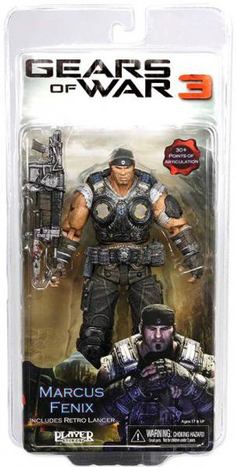 NECA Gears of War 3 Marcus Fenix Action Figure [Retro Lancer]