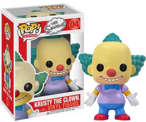 Funko The Simpsons POP! TV Krusty The Clown Vinyl Figure #04