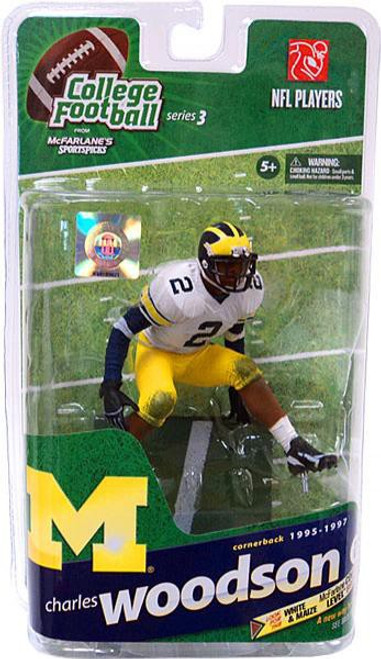 McFarlane Toys NCAA College Football Sports Picks Series 3 Charles Woodson Action Figure [White Jersey]