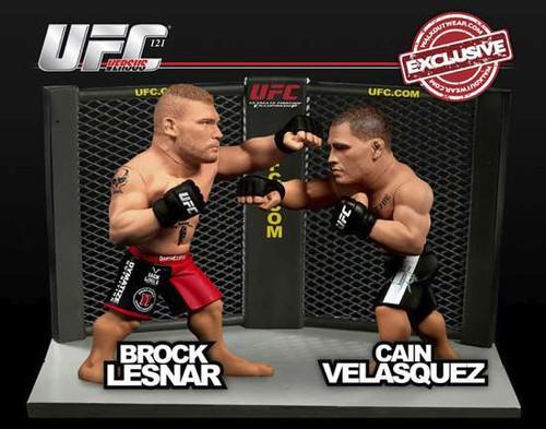 UFC Versus Series 2 Brock Lesnar vs. Cain Velasquez Action Figure 2-Pack