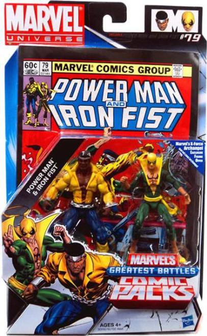 Marvel Universe Power Man & Iron Fist Action Figure 2-Pack