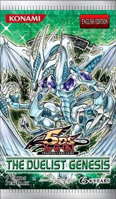 YuGiOh Trading Card Game The Duelist Genesis Booster Pack [9 Cards]