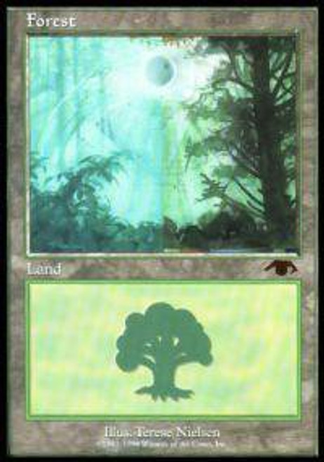 MtG Assorted Promo Cards Promo Forest [Guru]