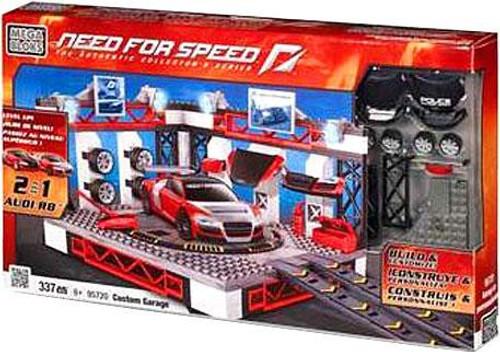 Mega Bloks Need for Speed Custom Garage Set #95720