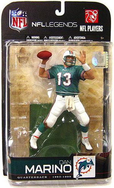 McFarlane Toys NFL Miami Dolphins Sports Picks Legends Series 5 Dan Marino Action Figure [Aqua Jersey]