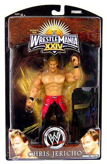 WWE Wrestling Road to WrestleMania 24 Series 3 Chris Jericho Exclusive Action Figure