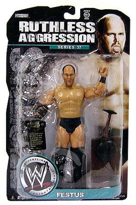 WWE Wrestling Ruthless Aggression Series 37 Festus Action Figure