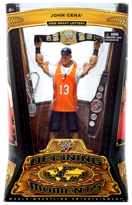 WWE Wrestling Defining Moments Series 5 John Cena Action Figure [2003 Word Life]