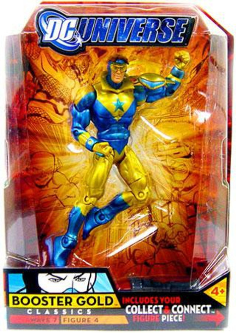 DC Universe Classics Atom Smasher Series Booster Gold Action Figure #4 [Gold Collar]